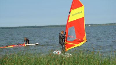 Szkoły windsurfingu zdjęcie pokoju w Łebie