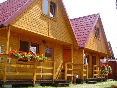 Domki u Skrzata zdjęcie pokoju w Łebie