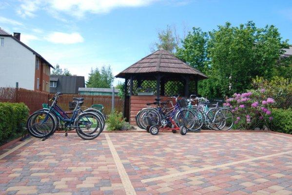 Trasy rowerowe zdjęcie pokoju w Łebie